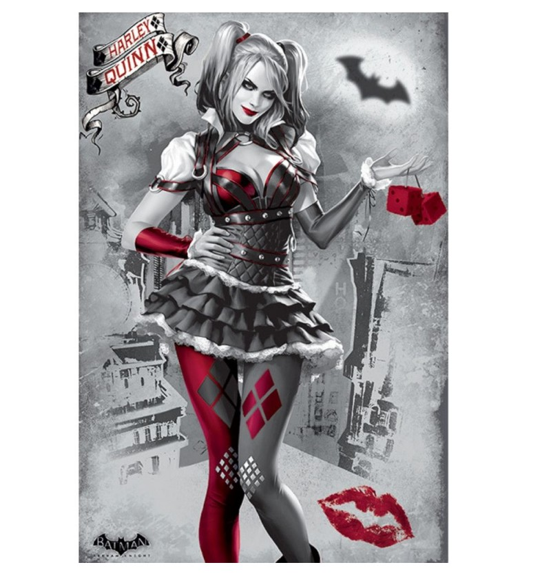 Harley Quinn Batman Arkham...