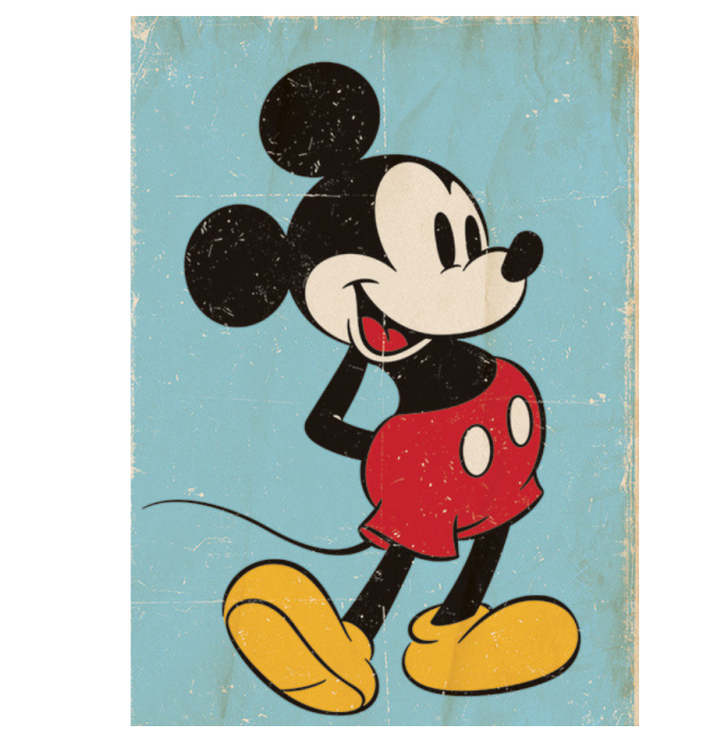 Αφίσα Mickey Mouse (Retro)...