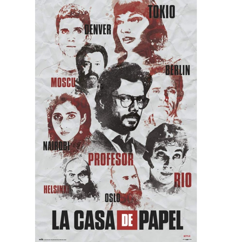 Αφίσα Casa de Papel | Money...