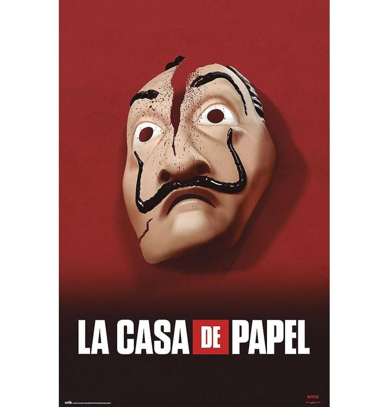Αφίσα Μάσκα Νταλί Casa de...