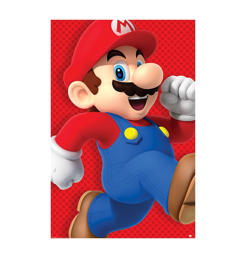 Αφίσα Super Mario Nintendo