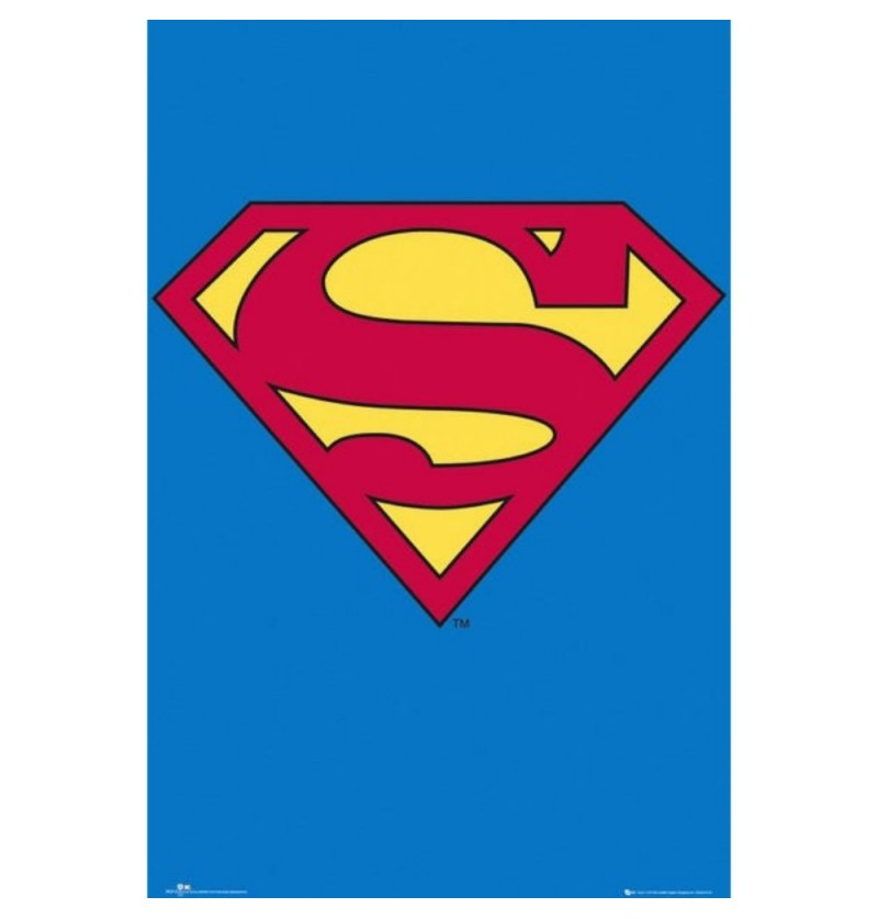 Superman Logo Poster
