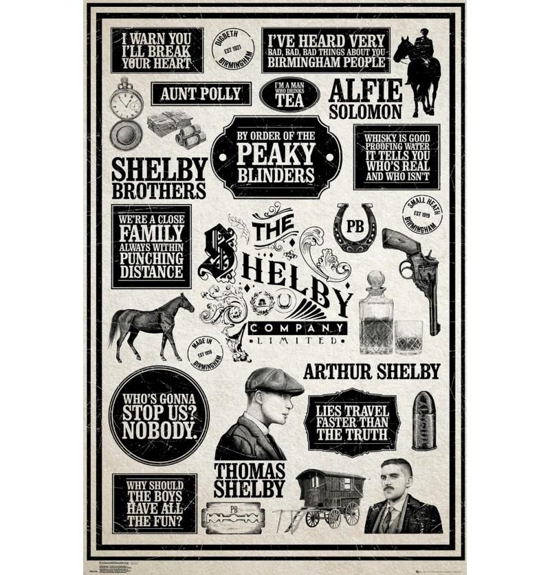 Αφίσα Peaky Blinders