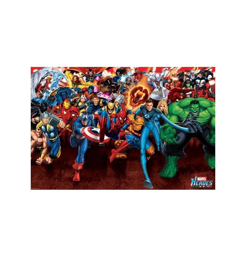 Αφίσα Marvel Heroes