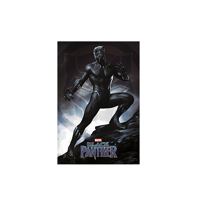 Black Panther (Stance) Poster