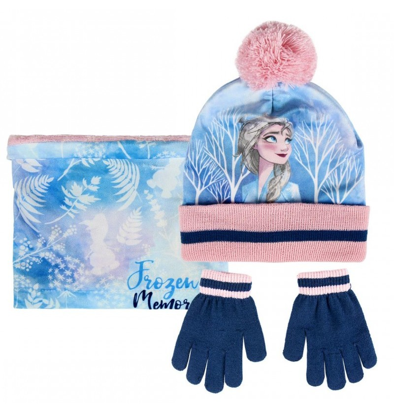 Set gloves scarf beanie Frozen