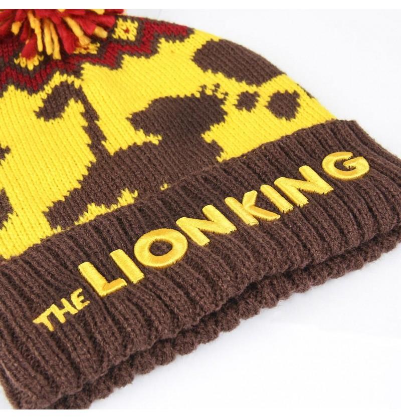 Lion King pompon Beanie