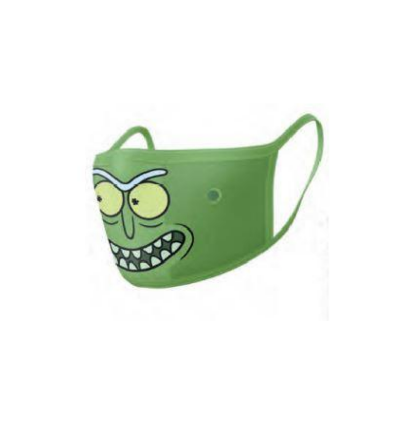 Protection Mask Pickle Rick (Rick & Morty)