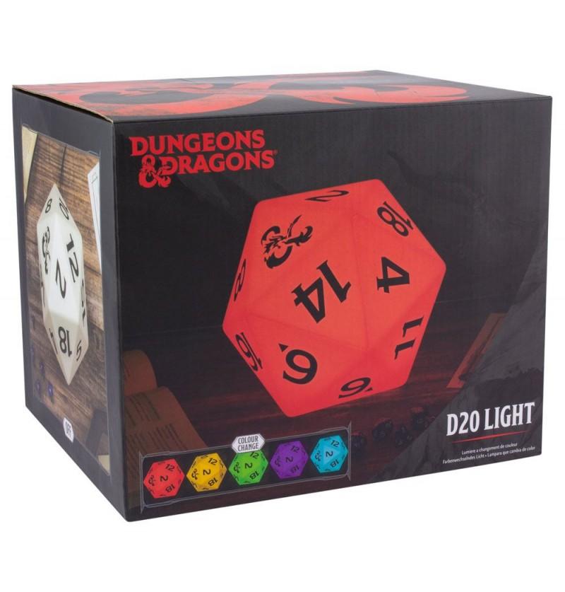 Dungeons & Dragons - D20 Dice Λάμπα με αλλαγή χρωμάτων  (PP6639DD)