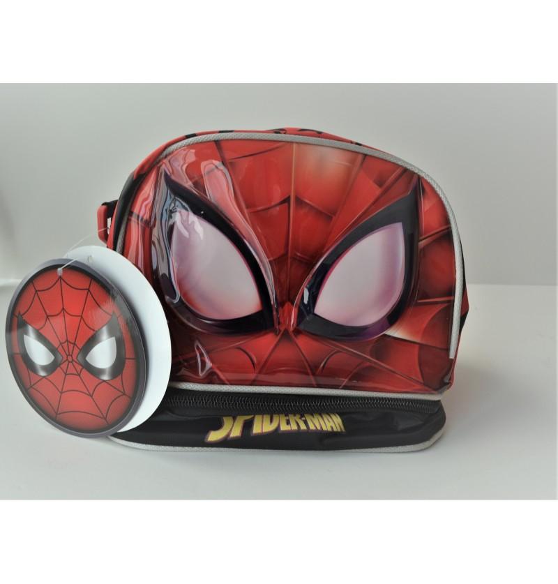 Spiderman Τσαντάκι Φαγητού για Νηπιαγωγειο Δημοτικό