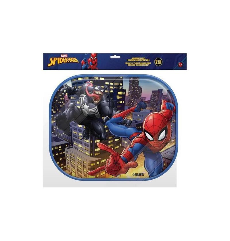 Spiderman Sun Car Protection