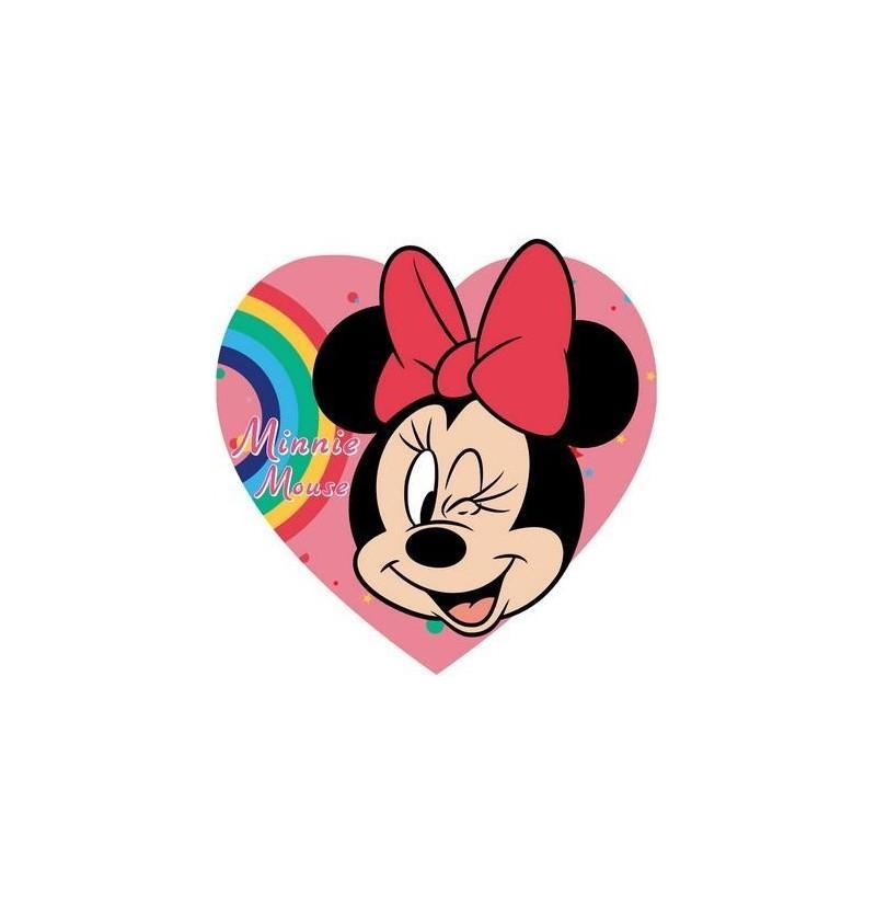 Διακοσμητικό Μαξιλάρι Σχήμα Καρδιάς Minnie Mouse