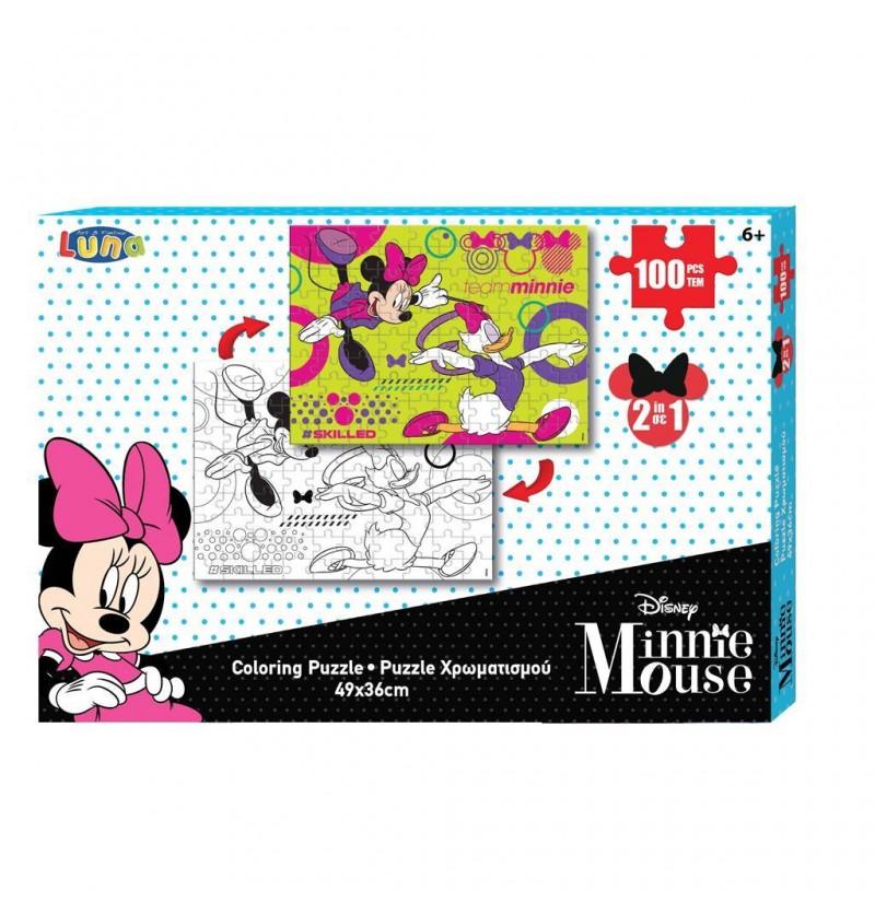 Minnie Mouse Παζλ...