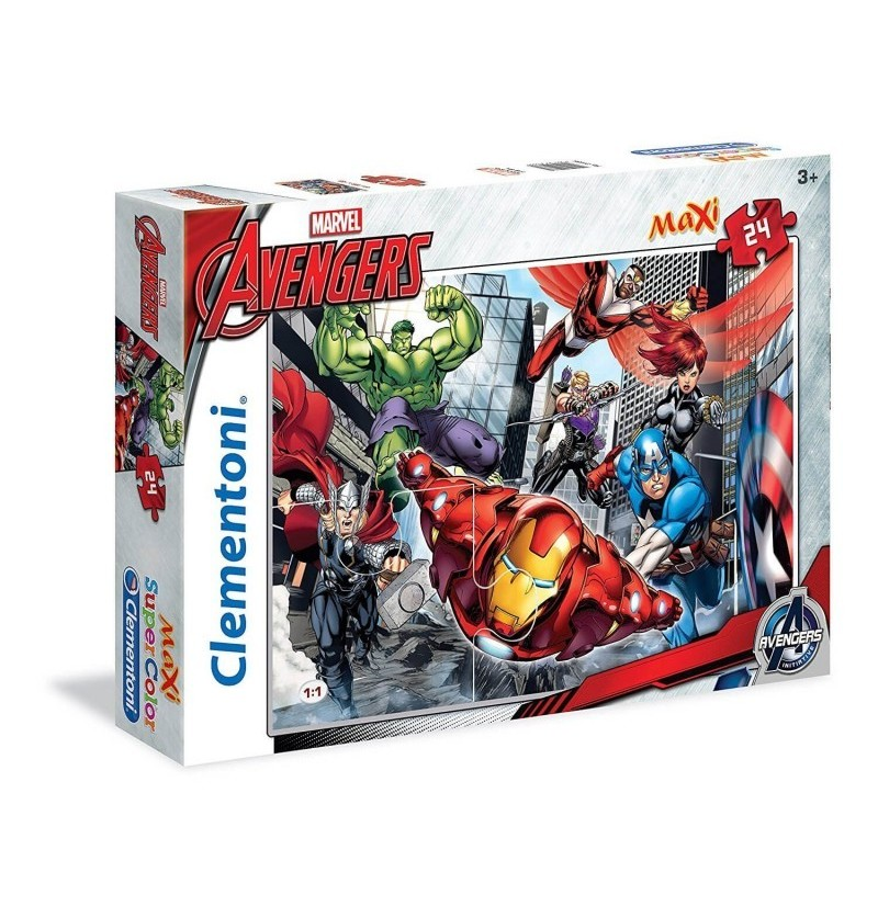 Puzzle Marvel Avengers 24...