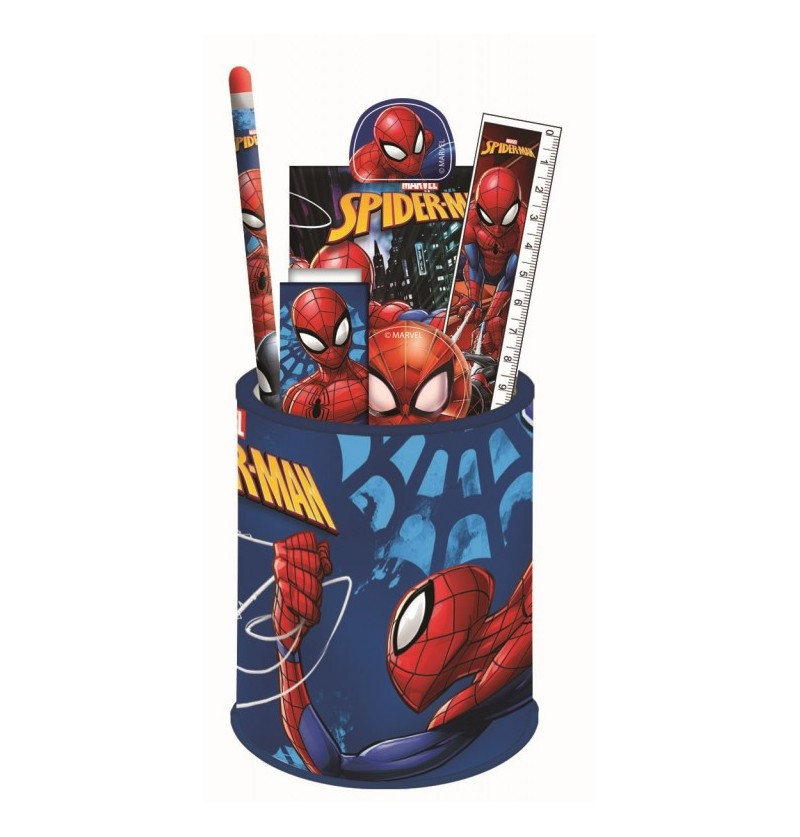 Spiderman Stationery School Set