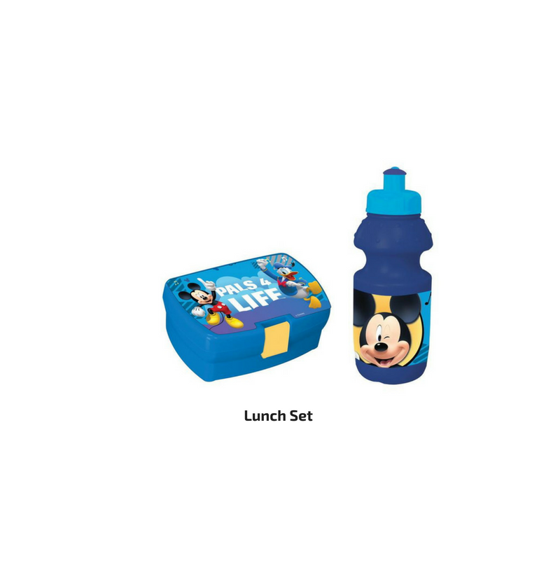 Mickey Mouse Lunch Set With...