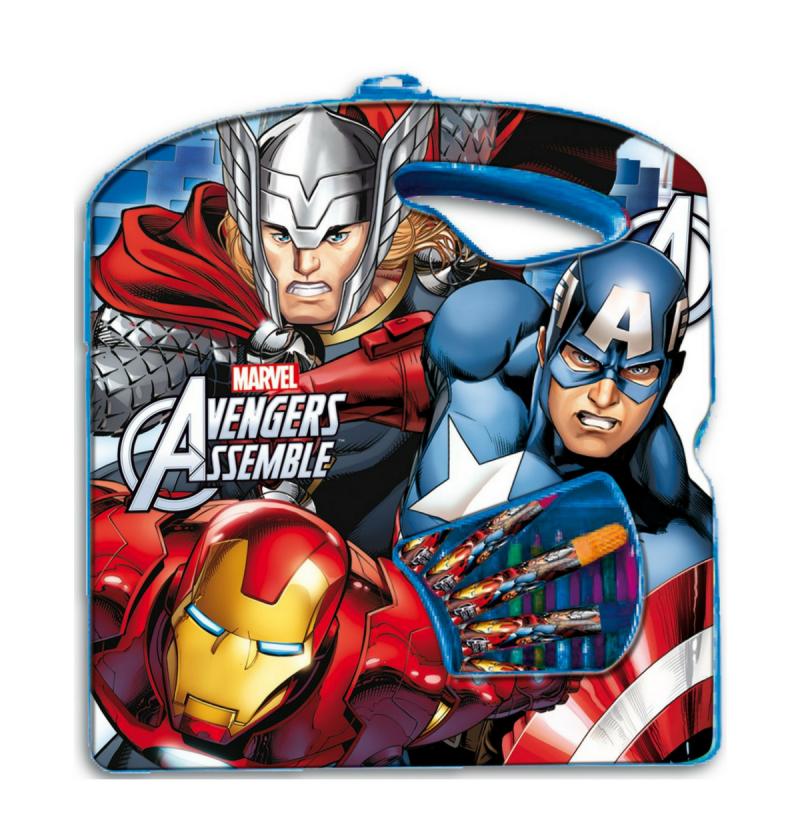 Σετ ζωγραφικής Avengers 40τεμ