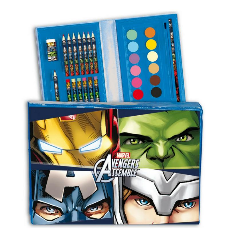 Σετ ζωγραφικής Avengers 30τεμ