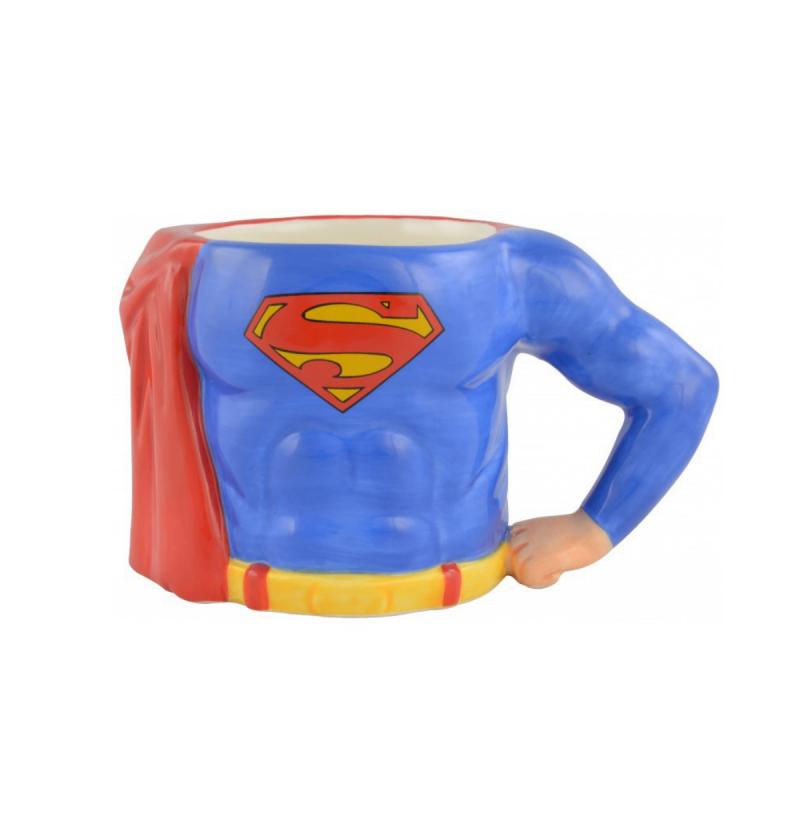 Superman Body 3D Relief Mug