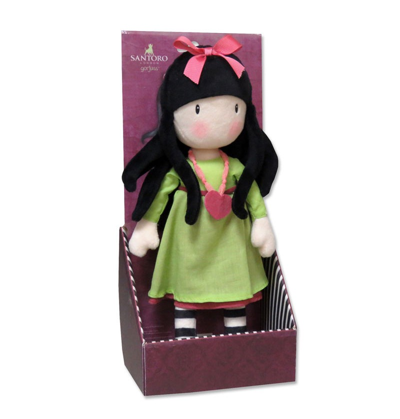 Plush Doll Gorjuss Santoro...