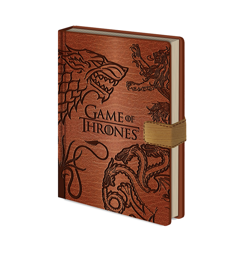 Notebook A5 Stark Sigil